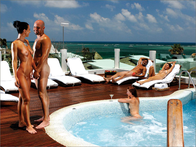 adult resort spa